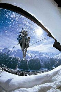 Jump, St. Anton am Arlberg #ski #RidersMatch #extremesport