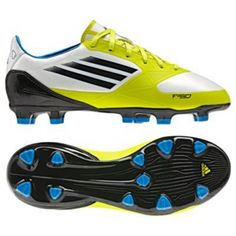 SALE - Adidas F30 Trx Soccer Cleats Kids Yellow Suede - Was $60.00 - SAVE $30.00. BUY Now - ONLY $30.00