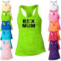 BMX Mom Racerback Burnout Tank Top. Running par Whynotstopnshop
