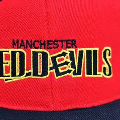 Manchester Red Devils Snapback from Croc Life http://rebnoise.com/product/manchester-red-devils-snapback/  Manchester United Themed
