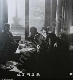 Portrait d'Alberto Giacometti by Robert Doisneau