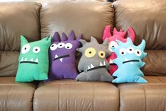 """make little monsters for party favors.  Put in a basket with a sign that says """"Adopt a Monster"""""""