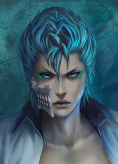 GRIMMJOW Jeagerjaques _ BLEACH by Zetsuai89 on DeviantArt
