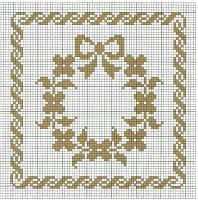 pixels, You can make really special patterns for fabrics with cross stitch. Cross stitch designs may almost amaze you. Cross stitch novices could make the designs they need without difficulty. Free Cross Stitch Charts, Cross Stitch Borders, Crochet Borders, Cross Stitch Flowers, Cross Stitch Designs, Cross Stitching, Cross Stitch Embroidery, Embroidery Patterns, Cross Stitch Patterns