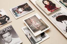 Metal Magazine Editorial Design