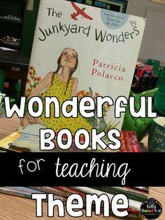Teaching Fourth: 4 Fabulous Ideas for Teaching Theme
