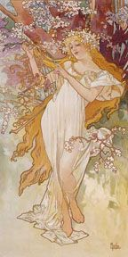 Alfons Mucha: Spring