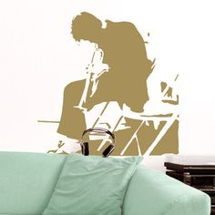 Wandsticker Cool Jazz Golden, 50€, jetzt auf Fab.