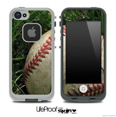 Vintage Baseball Skin for the iPhone 4/4s or 5 LifeProof Case