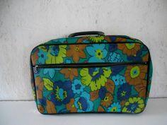 Vintage Kids Floral Suitcase - http://oleantravel.com/vintage-kids-floral-suitcase