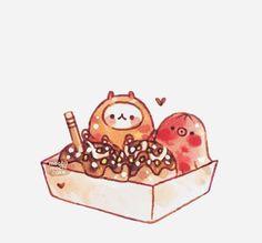 Cute Food Drawings, Kawaii Drawings, Cute Food Art, Cute Art, Diy Cat Tent, Chibi Food, Amazing Gymnastics, Cute Doodles, Cute Chibi