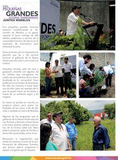 Con pequeñas grandes acciones transformemos juntos Morelos.