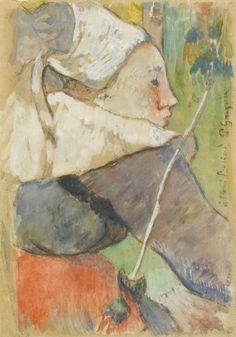 Christie's 2017 A major highlight is Paul Gauguin's Te Fare (La maison) (estimate: £12,000,000-18,000,000), one of th...