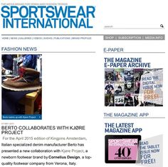 Many thanks to @sportswear_international, this month featured Kjøre Project on their issue. Thanks also to @berto_industria_tessile and @blue.selvedge #berlin #frankfurt #munich #hamburg #germany‬ ‪#‎sportswear‬ ‪#‎internation‬al #denim‬ ‪#denimlovers #media‬ ‪#‎press‬  Take a look at this link:  http://www.sportswearnet.com
