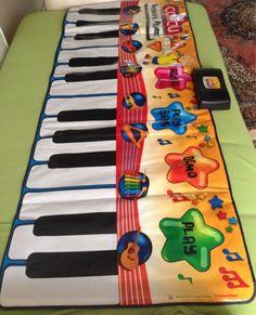 eğlenceli müzikli caillou halı mat