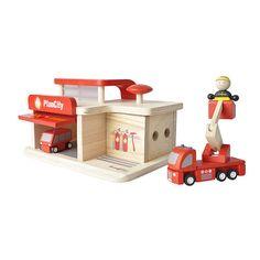 "PlanToys Fire Station - PlanToys - Toys ""R"" Us"