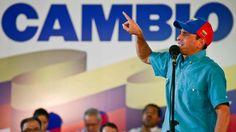 Henrique Capriles fue uno de los oradores de la jornada
