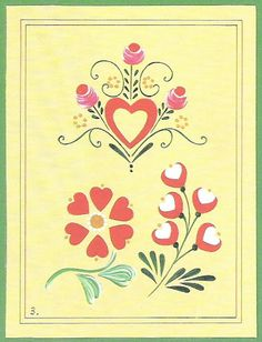 step-by-step Folk ART Flowers - senia One Stroke - Picasa Web Albums