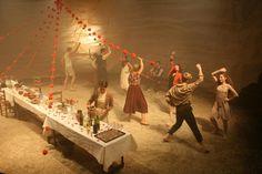 Blood Wedding, designed by Madeleine Girling.
