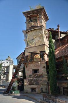 Clock Tower, Tblisi, Georgia