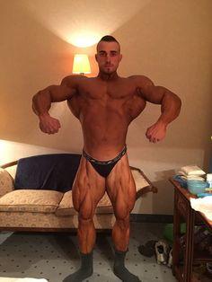 Bodybuilder and Muscle Men — whitepapermuscle: Dani Kaganovich