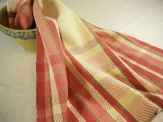 Kitchen Towel, Cotton and Linen, in Dusty Rose