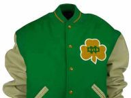 Buy Notre Dame Fighting Irish NCAA Wool Varsity Throwback Jacket Jackets Apparel and other Notre Dame Fighting Irish products at Lids.com