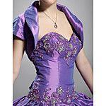 Long Sleeves Organza Bridal Jacket / Wedding Wrap (WSM0404) 2017 - $14.99
