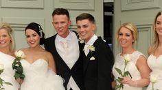 Hollyoaks actor Kieron Richardson married his husband Carl Hyland last month –. Ste Hay, Kieron Richardson, Hollyoaks, Love And Lust, Having A Baby, Soaps, Husband, Actors, Wedding Dresses
