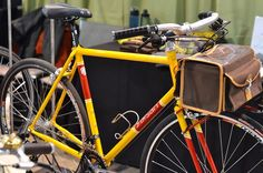 Yipsan is a previous winner (2010) of the best city bike category at NAHBS and continues to devote its efforts to perfecting the city bike.
