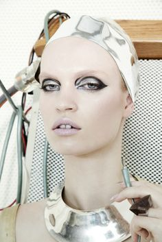 photographed by jamie nelson, makeup by  honda tadayoshi, spring 2013