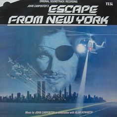 John Carpenter & Alan Howarth - Escape From New York (Original Soundtrack 1981)