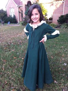 Custom made Merida costume with cape. by Hotglueproductions