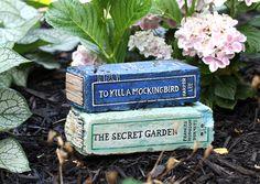 To Kill a Mockingbird - Artisan Hand Painted Garden Bricks or Book End - Echo-Lit