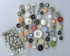 SOLD: China buttons
