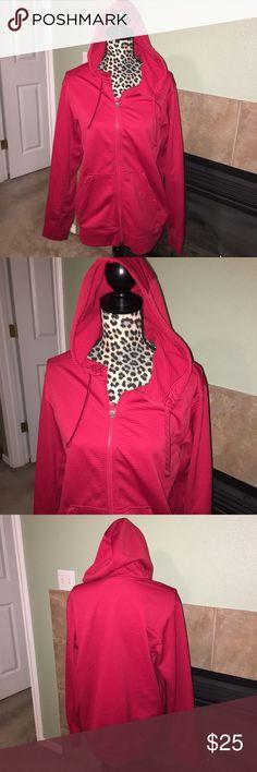 Nike thermal jacket Men's red Nike thermal jacket size medium Nike Sweaters Zip Up