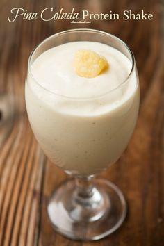Pina Colada Protein Shake Really nice recipes. Every hour. Show  Mein Blog: Alles rund um die Themen Genuss & Geschmack  Kochen Backen Braten Vorspeisen Hauptgerichte und Desserts # Hashtag