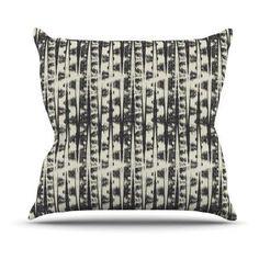 Kess InHouse Amanda Lane Abstract Indoor/Outdoor Throw Pillow - AL1001AOP03