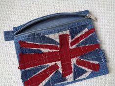 Women gift Makeup cosmetic bag clutch zipper pouch by BukiBuki