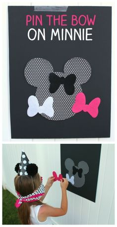 Perfect for a first birthday theme, a Minnie Mouse party is sure to be a hit with your little Disney fan. From cake to decorations, we have tons of adorable Minnie Mouse party ideas that you can easily incorporate into your event. Minnie Mouse 1st Birthday, Minnie Mouse Baby Shower, Mickey Mouse Party Games, Minnie Mouse Pinata, Minnie Birthday Ideas, Disney Party Games, Minnie Mouse Favors, Mickey Baby Showers, Minnie Mouse Birthday Decorations