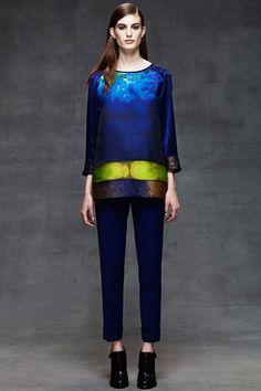 Alberta Ferretti - Pre Autumn/Winter 2014-15 Ready-To-Wear