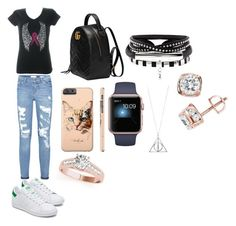 """Untitled #66"" by pisy88 on Polyvore featuring Gucci, Kitty Kat and TruMiracle"