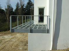Cliquer pour fermer Garde Corps Metal, Deck, Balconies, Outdoor Decor, Images, Exterior, Home Decor, Gardens, Facades