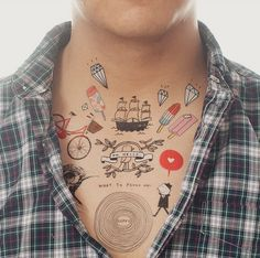Temporary Tattoos   31 Unusual Gifts To Give A Design Lover- so yeah I only like # 3, 7, 10, 11, 12, 18, 23, 27, & 29. haha