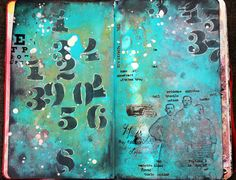 Artjounal pages
