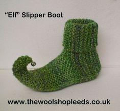 fd727d244935 knit elf slipper pattern