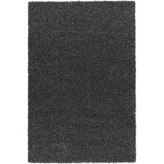 IKEA ALHEDE Rug, high pile, black (885 SEK) via Polyvore featuring home, rugs, black area rugs, faux rug, synthetic area rugs, stain resistant rugs and synthetic rugs