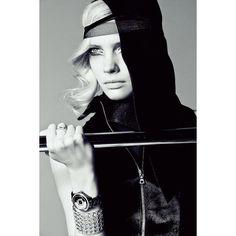 Sophie Srej Evokes Vintage Glamour for Harper's Bazaar China by... ❤ liked on Polyvore