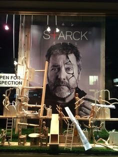 """STARCK EYES,""""Open for Inspection"""" at Mortimer Hirst Optometrist, Auckland-City, New Zealand, created by Ton van der Veer"""