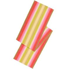 "Ombre Sorbet 72"" Table Runner by Now Designs. $19.95. This woven rib comes alive with a stylish gradation of color. We also stock this runner in indigo, ivory and cayenne colors. 100% cotton. 13x72""."